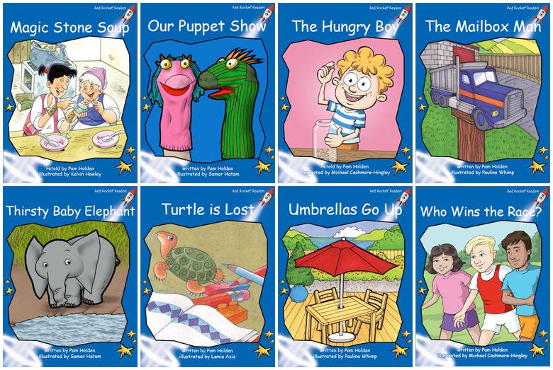 Red Rocket Readers Early Level 3: Fiction Set C