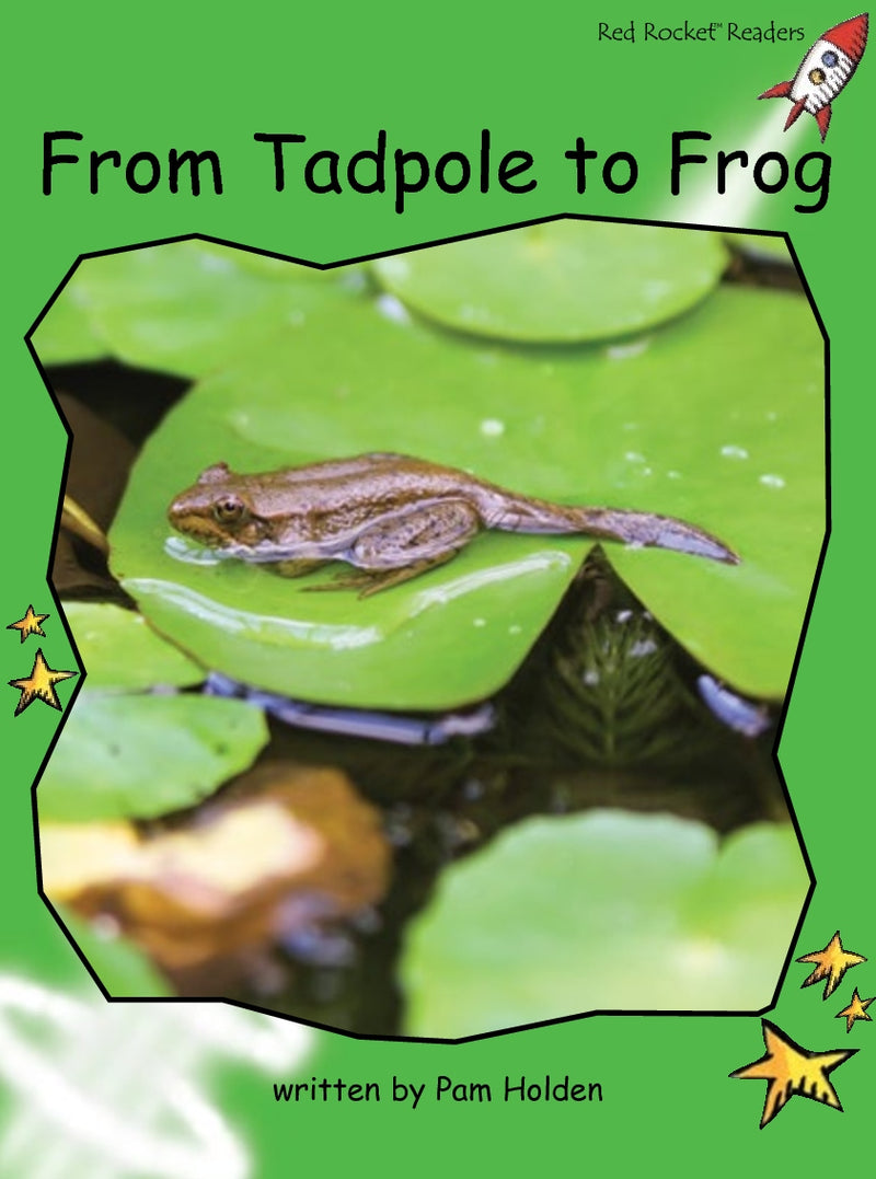 Red Rocket Readers Big Book: From Tadpole to Frog