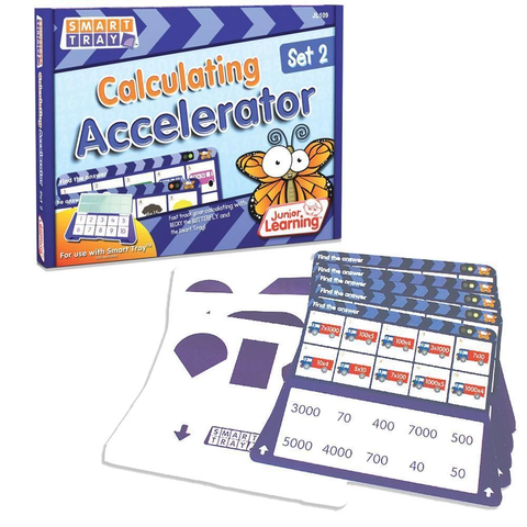 Smart Tray - Calculating Accelerator Set 2 (JL109)