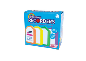 Rainbow Recorders (Set of 4) (JL419)