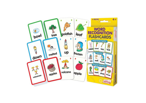 Word Recognition Flashcards (JL201)