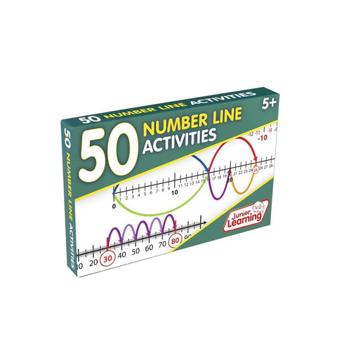 50 Number Line Activities (JL325)