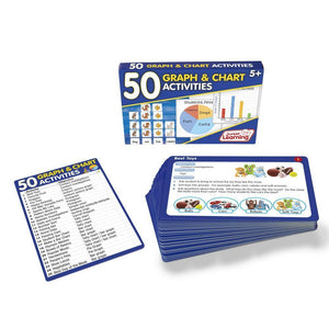 50 Graph and Chart Activities (JL334)