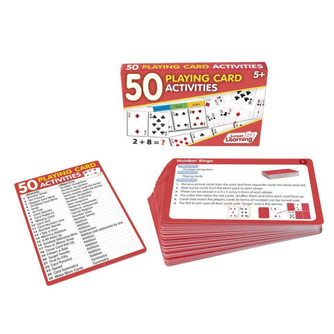 50 Playing Card Activities (JL341)