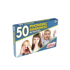 50 Phonemic Awareness Activities (JL351)