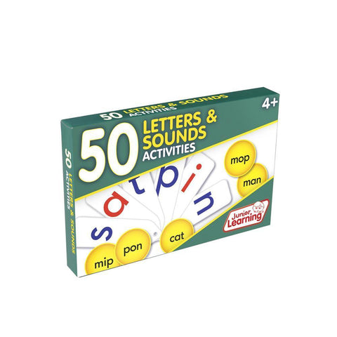 50 Letters & Sounds Activities (JL353)