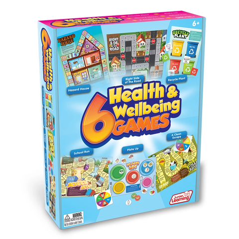 6 Health and Wellbeing Games (JL414)