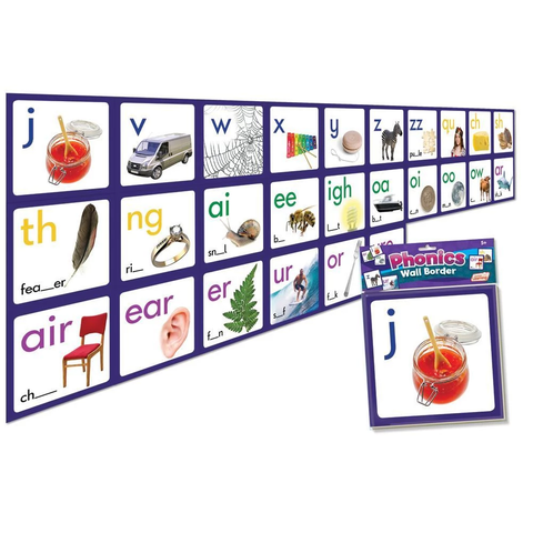 Phonics Wall Border (JL462)