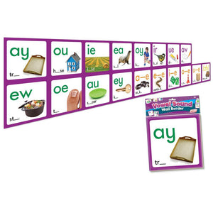 Vowel Sound Wall Border(JL464)