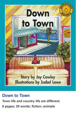 Sunshine Classics Level 1: Down to Town