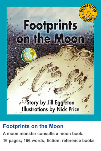 Sunshine Classics Level 10: Footprints on the Moon
