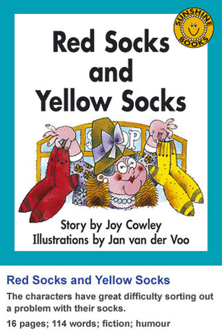 Sunshine Classics Level 11: Red Socks and Yellow Socks