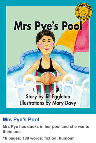 Sunshine Classics Level 11: Mrs Pye's Pool