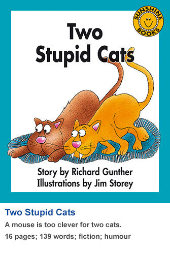 Sunshine Classics Level 12: Two Stupid Cats