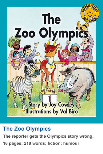 Sunshine Classics Level 14: The Zoo Olympics