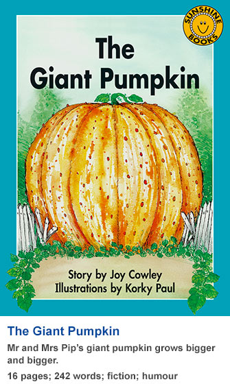 Sunshine Classics Level 16: The Giant Pumpkin