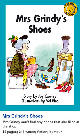 Sunshine Classics Level 17: Mrs Grindy's Shoes