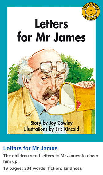 Sunshine Classics Level 18: Letters for Mr James