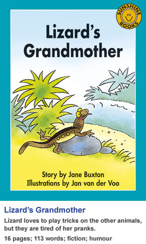Sunshine Classics Level 18: Lizard's Grandmother