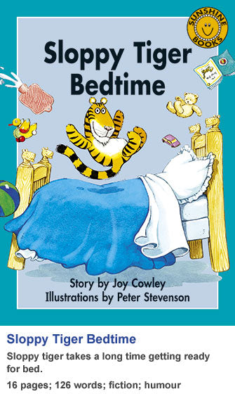 Sunshine Classics Level 19: Sloopy Tiger Bedtime