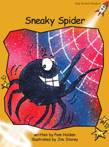 Red Rocket Fluency Level 4 Fiction A (Level 21): Sneaky Spider