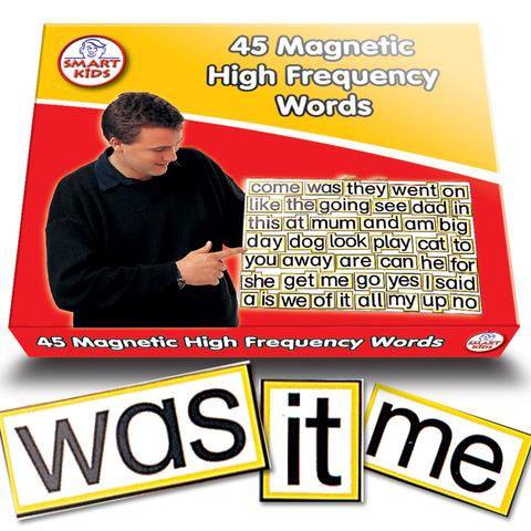 Magnetic High Frequency Words