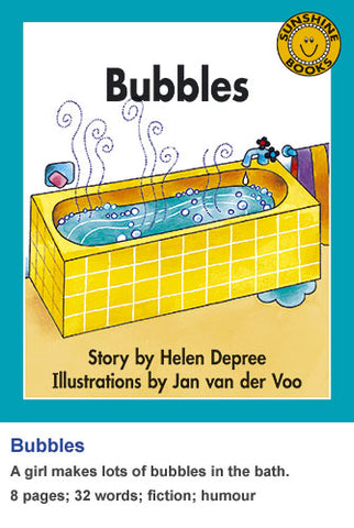 Sunshine Classics Level 3: Bubbles