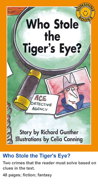 Sunshine Classics Level 30: Who Stole the Tiger's Eye?