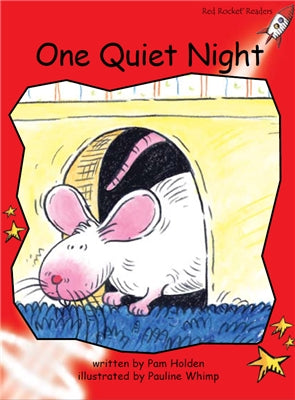 Red Rocket Early Level 1 Fiction B (Level 4): One Quiet Night