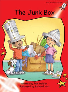 Red Rocket Early Level 1 Fiction B (Level 4): The Junk Box