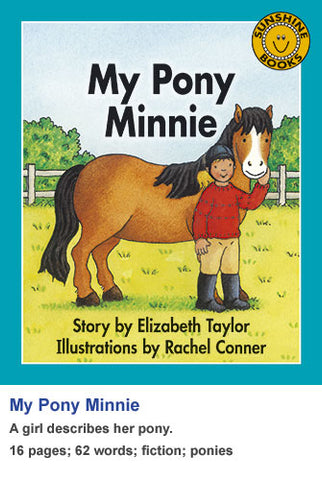 Sunshine Classics Level 6: My Pony Minnie
