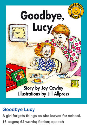 Sunshine Classics Level 7: Goodbye, Lucy