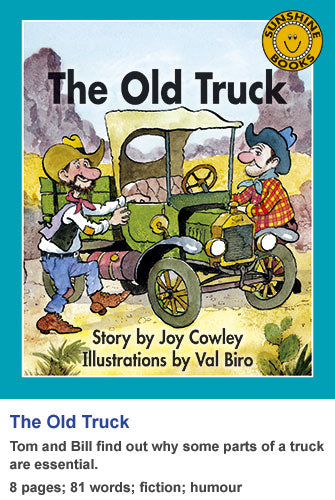 Sunshine Classics Level 7: The Old Truck