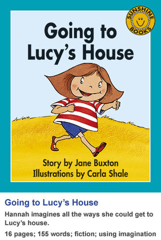 Sunshine Classics Level 7: Going to Lucy's House