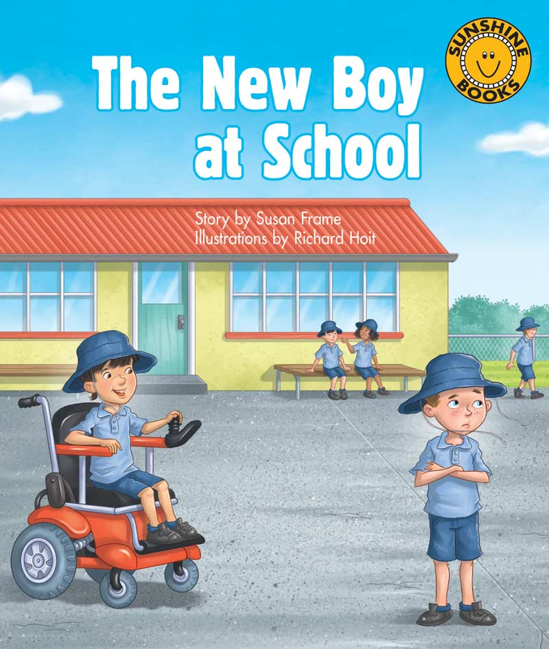 Sunshine Starters Level 7: The New Boy at School