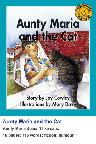 Sunshine Classics Level 8: Aunty Maria and the Cat