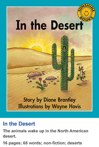Sunshine Classics Level 8: In the Desert