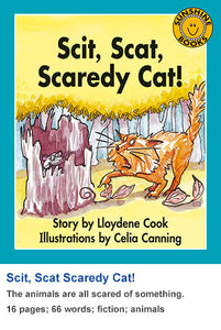 Sunshine Classics Level 8: Scit, Scat, Scaredy Cat!