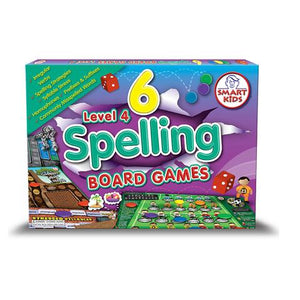 6 Spelling Board Games Level 4