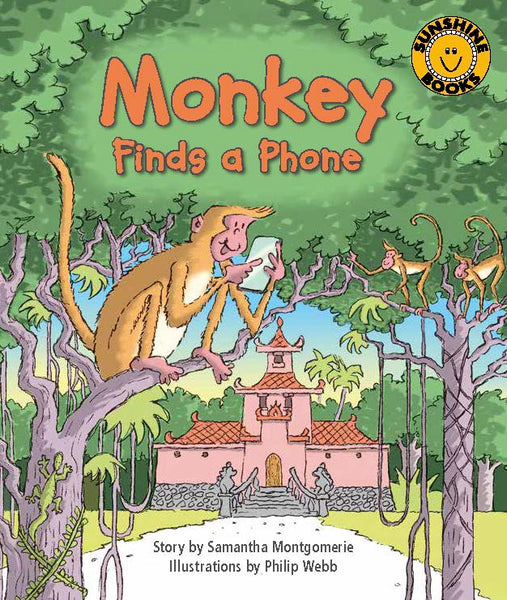 Sunshine Starters Level 12: Monkey Finds a Phone