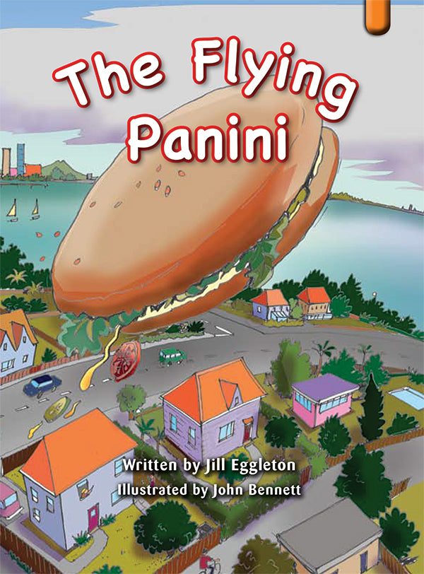 Key Links Orange, Level 15-16: The Flying Panini