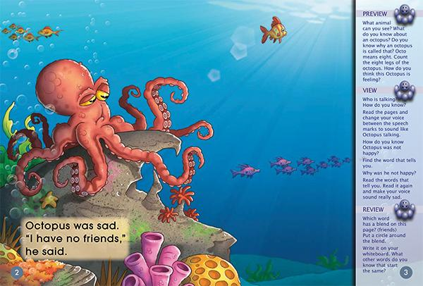 Key Links Yellow Book 1, Level 6: Octopus is a Friend