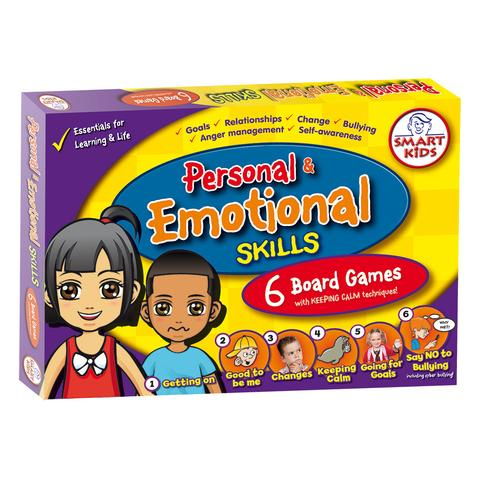 6 Personal & Emotional Skills Board Games