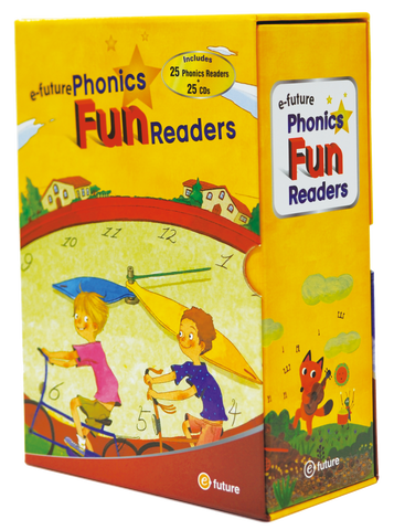 e-future Phonics Fun Readers Box Set