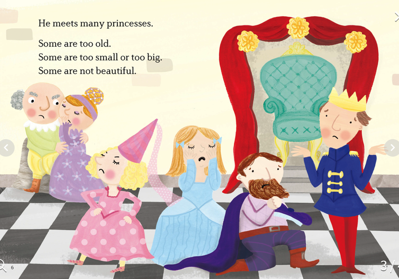EF Classic Readers Level S, Book 1: The Princess and the Pea