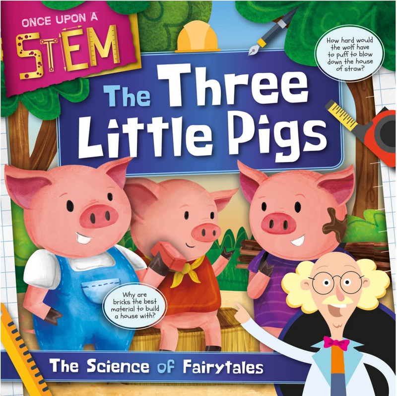Once Upon a STEM: The Three Little Pigs