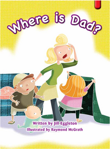 Key Links Red (Book 19, Level 5): Where is Dad?