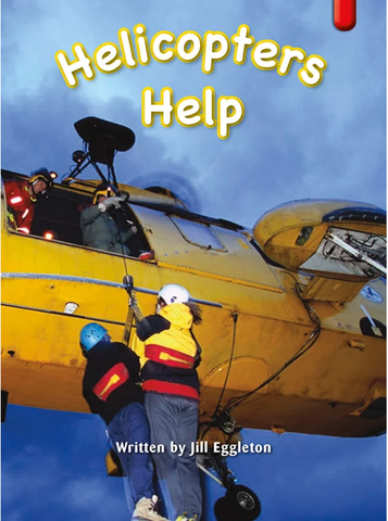 Key Links Red (Book 24, Level 5): Helicopters Help