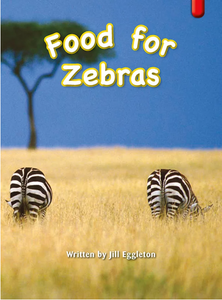 Key Links Red (Book 22, Level 5): Food for Zebras