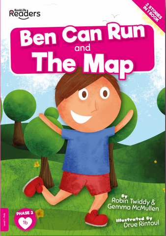 BookLife Readers - Pink: Ben Can Run/The Map